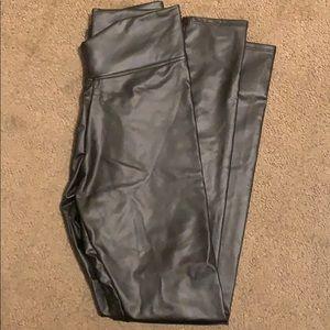 agnes and dora faux leather leggings